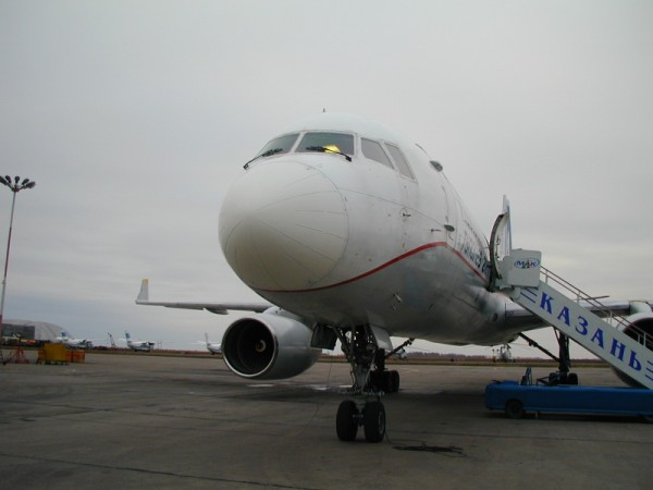 Ice shape testing on the Tupolev 214 as part of the certification testing for the Tupolev 204 for EASA.